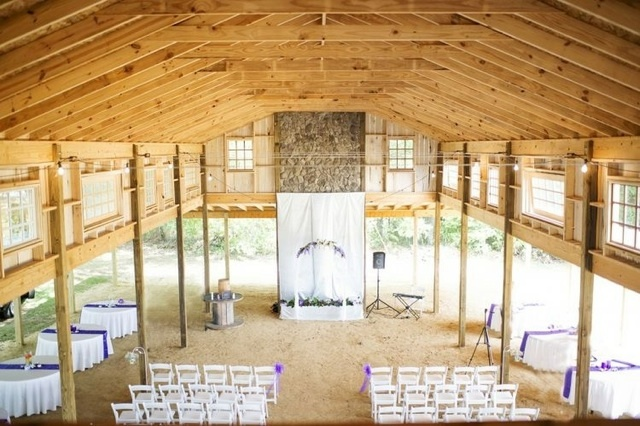 Barn ceremonies are becoming more popular.